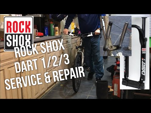 Rock Shox Dart 3 Service & Repair, How To Tear Down Same as Dart 1/2 & many more