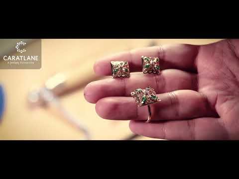 Kusum Intricate Stud Earrings