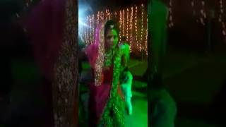 Fouji dance with his wife at marriage