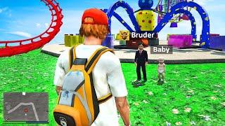 KLEINER BRUDER und BABY besuchen Disney Land in GTA 5 RP!