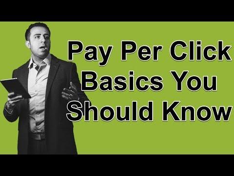 Pay Per Click Basics You Should Know