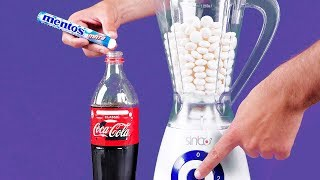 Download Blender VS Coca Cola and Mentos | 16 Awesome Experiments Video