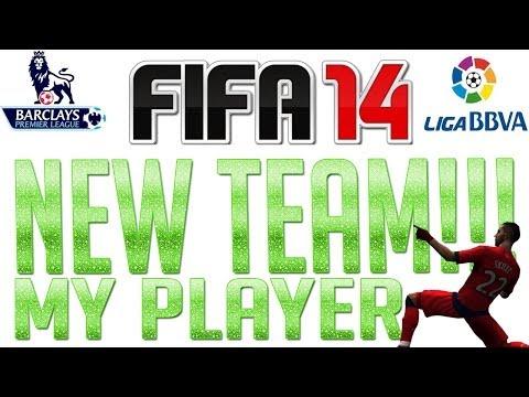 FIFA 14 - NEW CLUB - My Player