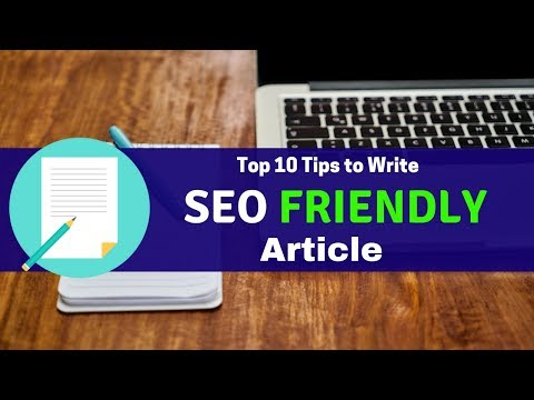 How to Write SEO Friendly Article for Blog [Hindi]