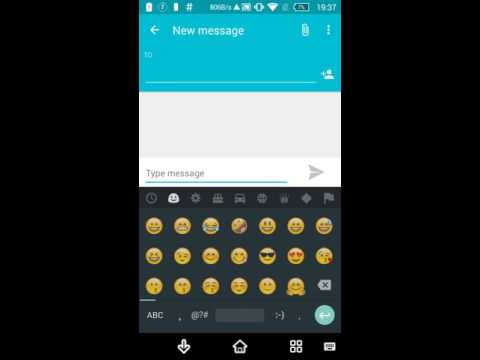 How To Get iOS,Samsung,Android N,Twitter Emoji's On Google Keyboard Using This App (Root Required)