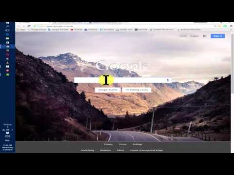 How To Change Your Google Home Page Background  Image Easily (Urdu/hindi)