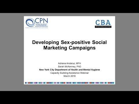 Developing Sex-positive Social Marketing Campaigns