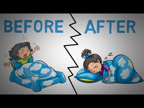 How to Fall Asleep FAST - 5 Tips To Quickly Fall Asleep (animated)