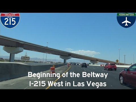 (3-9) Beginning of the Beltway - I-215 West in Las Vegas