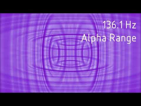 Pure 136.1 Hz Alpha Range Binaural Beats [30 min]