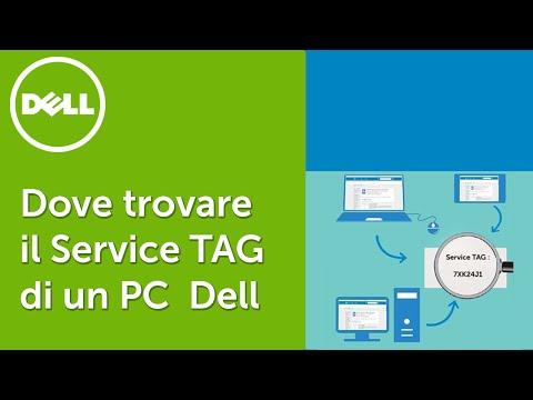 Dove trovare il Service Tag o Numero di Matricola di un PC Dell - (Video ufficiale supporto Dell)
