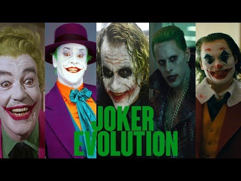 EVOLUTION OF JOKER IN MOVIES & TV (1966 - 2020) | EVOLUTION MANIA STAGE | TBG