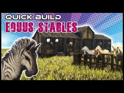 Quick Build | Equus Stables | Ark Survival