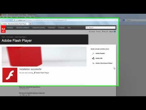 How To Install the Adobe Flash Player to your Laptop, by Manny Viloria