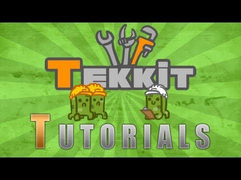 Tekkit Tutorials - How To Make A Quarry