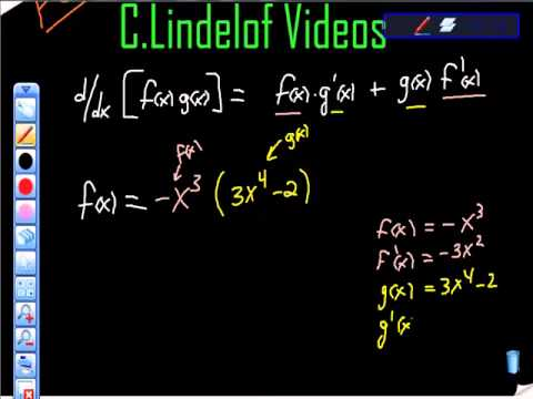 Calculus and the Product Rule Made Easy
