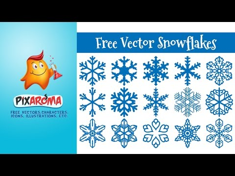 How to make vector snowflakes in Ilustrator and Photoshop - Tutorial