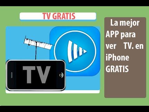 La mejor aplicación para ver TV HD en vivo para iPhone