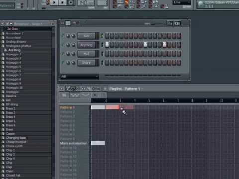 FL Studio Workflow - Stopping Patterns from Continuing to Play in the Playlist