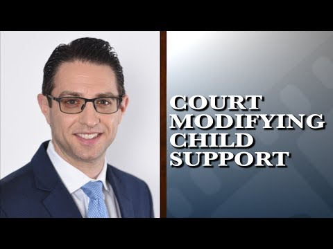 When might a court modify child support?