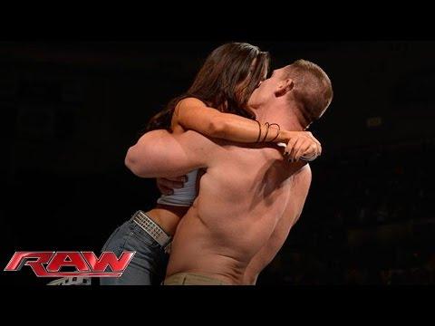 Xxx Mp4 John Cena And AJ Lee Kiss After Cena S Victory Over Dolph Ziggler Raw Nov 26 2012 3gp Sex