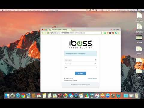 Techie PD with ITRT-C:  Unlocking iBoss Filter on RPS Networks