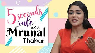 Mrunal Thakur plays 'MOST ENTERTAINING' round of '5 Second Rule'