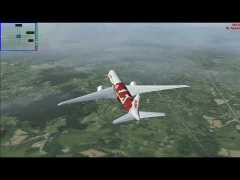 FS9 - b777-200 Red Phoenix - Heathrow go to Birmingham City - EGLL - EGBB