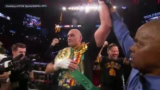 Fury drops Wilder Twice, Finishes Wilder in the 7th | HIGHLIGHTS | Wilder vs Fury 2