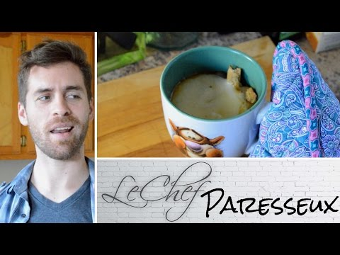 French Onion Soup Gluten Free & Vegetarian! Le Chef Paresseux Ep. 32 [CC]