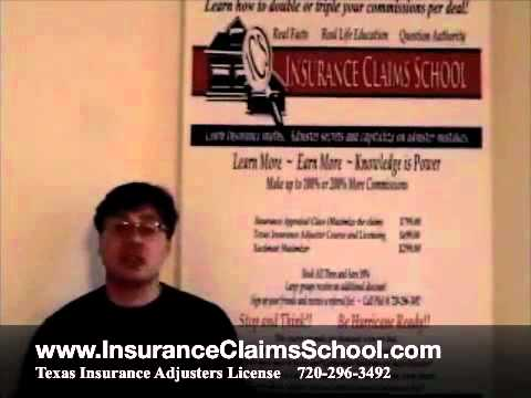 Texas Insurance Adjuster Licensing Class | Insurance Adjuster Training TX |  TX.m4v