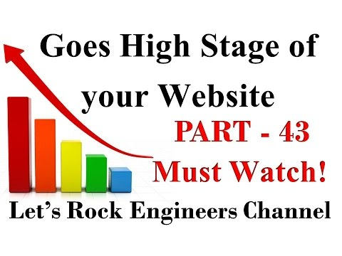 How to goes High Stage of Your Website? - SEO Tutorial For Beginners -  PART - 43