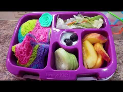 Week 35 - How I make my kindergartner's lunches - Bento Box Style