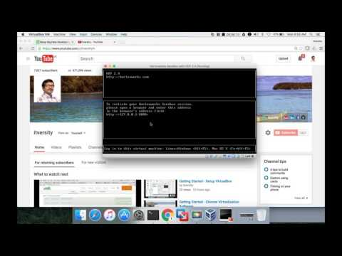 Getting Started - Setup Hortonworks sandbox - Virtualbox