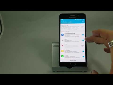 How to Back up a Samsung Smartphone to a Samsung Account