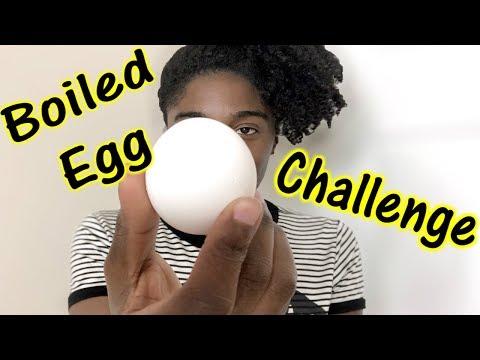 The Boiled Egg Challenge 1 Week