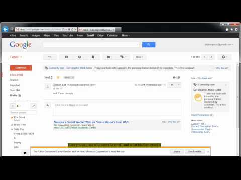 how to check your email (gmail user)