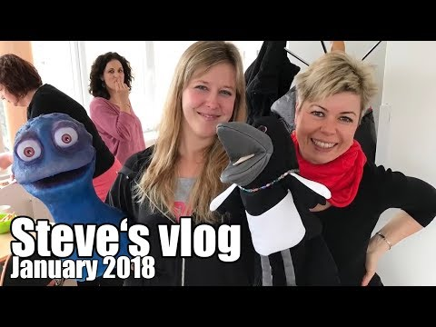 Steve's making new friends | Steve and Maggie's vlog | January 2018