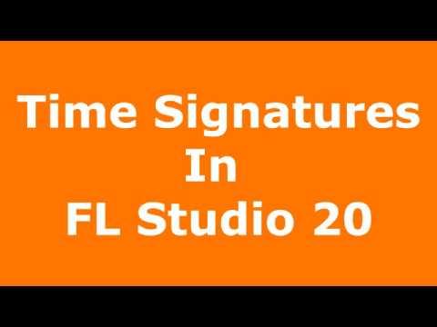 Time Signatures In FL Studio 20