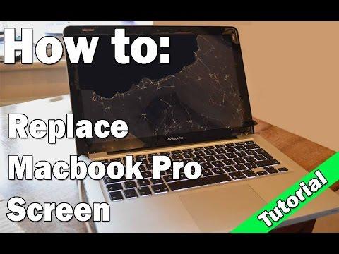 How to fix Macbook Pro Cracked Screen (Tutorial)