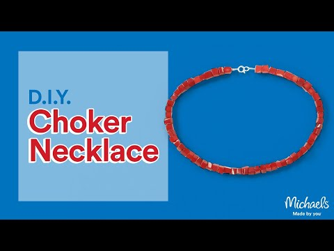 Choker Necklace | Jewelry & Accessory Ideas | Michaels