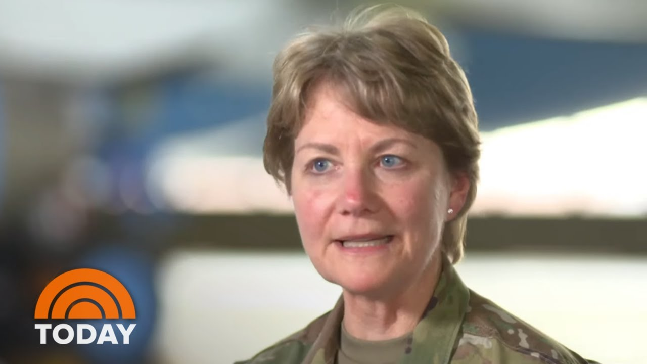 Meet America's Only Female Four-Star General   TODAY