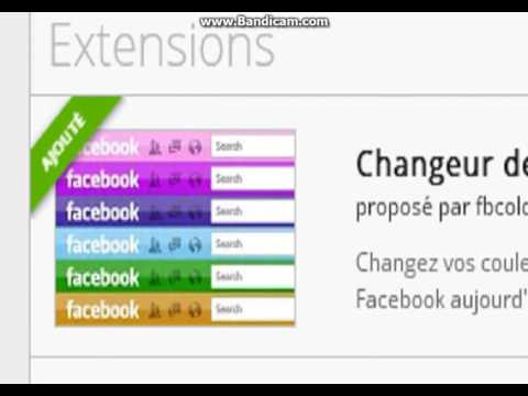 how to change your facebook color