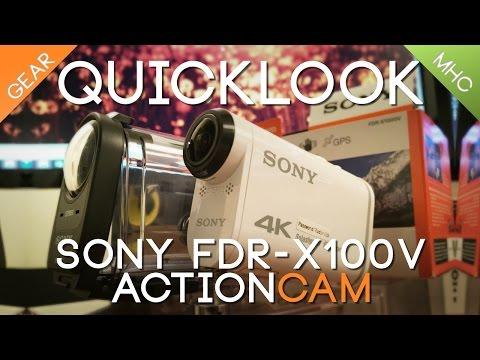 Quicklook Sony 4K FDR-X1000V Part 1 Hardware