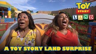 A Toy Story Land Surprise | Disney•Pixar