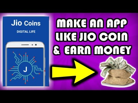 How to make an app like Jio Coin Crypto Currency | Make Jio Coin Guide in Thunkable Book & Earn