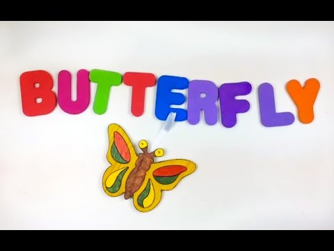 Let's make many words with colorful ABCS. The alphabets from A to L. LET'S PLAY KIDS. PART 1