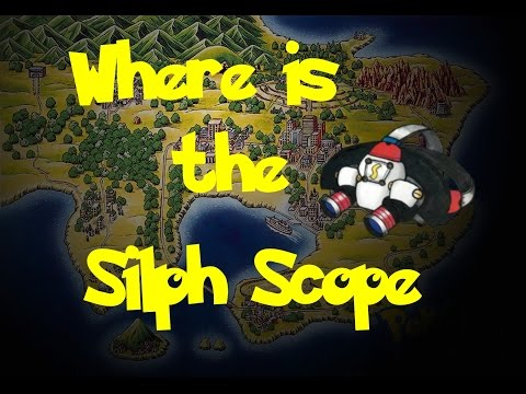 Where Is: The Silph Scope (Pokemon Fire Red/Leaf Green)