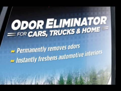 How To Use Meguiar's NEW 2010 Odor Eliminator