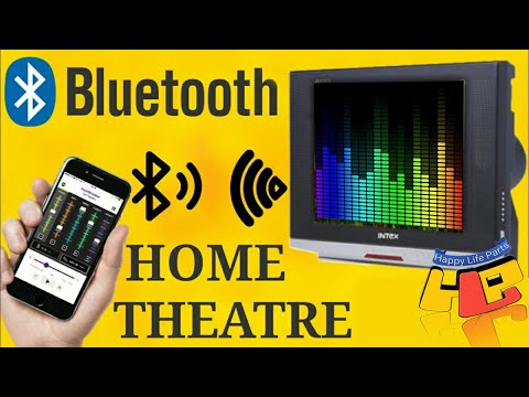 TV Bluetooth Theater How To Convert OLD CRT TV LCD LED HD TV into Bluetooth Home Theater